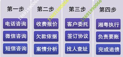 湘粤债务公司委托流程